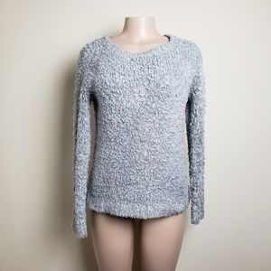 ATMOSPHERE Grey Fluffy Sweater